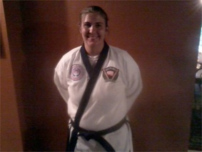 Ms. Kasey Culp, 1st Degree Black Belt