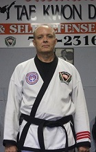 Mr. Mike Nadeau, 3rd Degree Black Belt