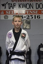 Mr. Gabriel Schario, 2nd Degree Black Belt