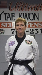 Mrs. Nadeau, 3rd Degree Black Belt